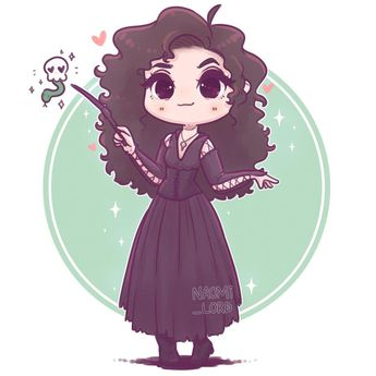 ✨💚 Chibi Bellatrix Lestrange 💀💚✨ who wants a little death eater series? :3 • #bellatrix #bellatrixlestrange #bella #lestrange #deatheater…