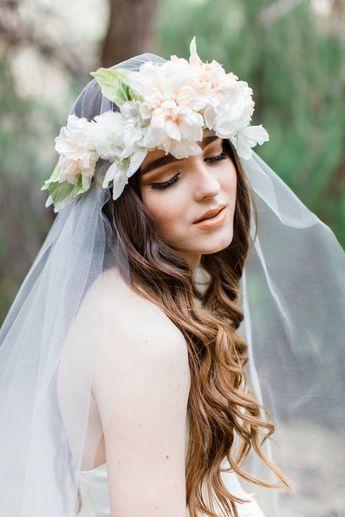 Silk Spring Flower Crowns from Mignonne Handmade