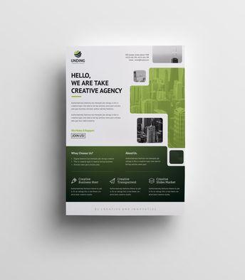 Arachne Elegant Premium Business Flyer Template - Graphic Templates