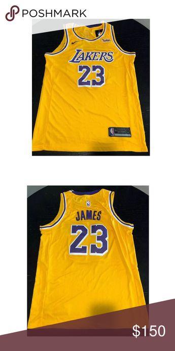 f224f666e2bd Lenron James Laker Jersey Size Large! Lebron james NWT Size Large Lakers  Jersey Nike Tops