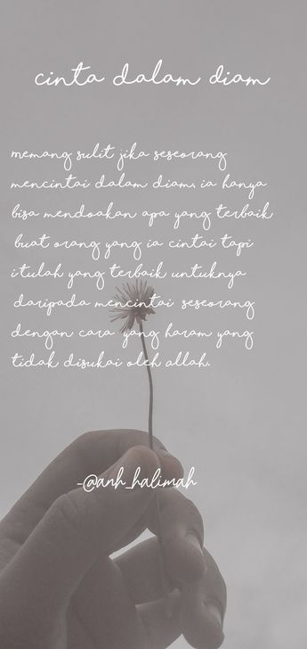 Kata Cinta Dalam Diam Cikimm Com