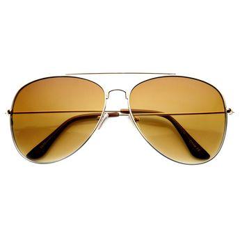 f7c11b11798cf Large Tear Drop Classic Lightweight Metal Aviator Sunglasses (60mm)