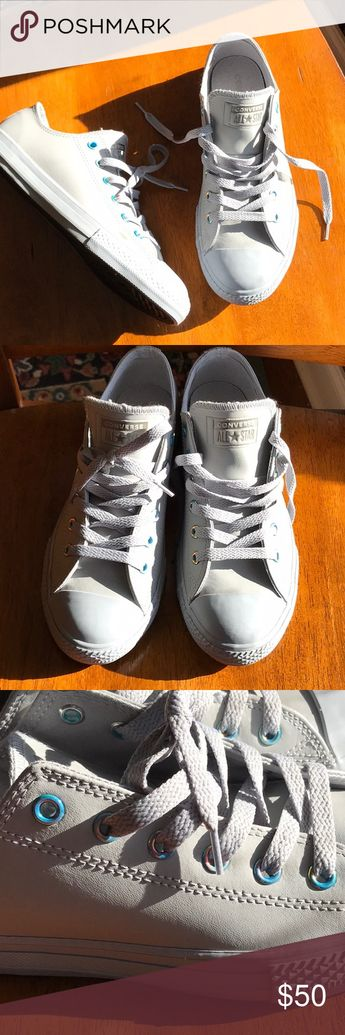 dac4a4f6b94002 CONVERSE CHUCK TAYLOR ALL STAR OXFORD LEATHER NWOT CONVERSE CHUCK TAYLOR ALL  STAR OXFORD LEATHER SNEAKERS
