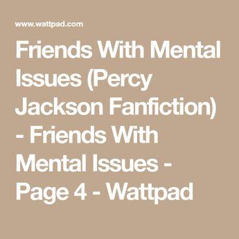 Percy Jackson's sick secret (avengers) - Scared
