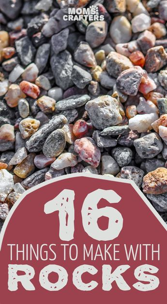 16 things to make with rocks