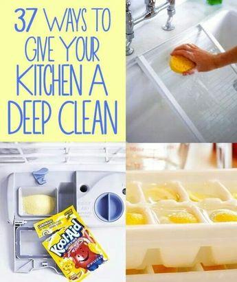 Kitchen extra clean