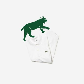 3520 polos available in 9 stores around the world and on lacoste.com today to help IUCN's efforts to conserve threatened wildlife. The number of polos made of each species matches the number of animals known to remain in the wild. #LacosteSaveOurSpecies #Lacoste #IUCN