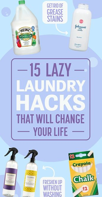 15 Lazy Girl Laundry Hacks That Will Change Your Life