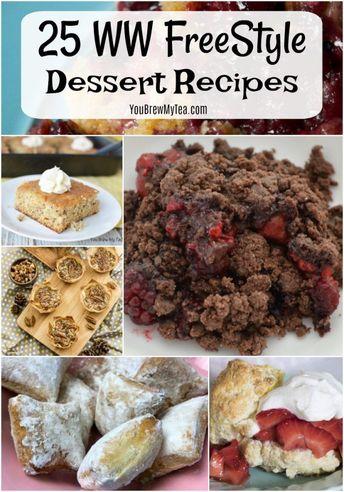 25 WW FreeStyle Dessert Recipes