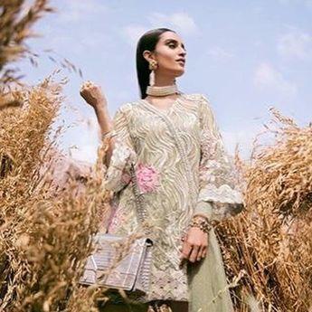 9b4af6fa9d Sana Safinaz Net Bridal Suit, Ladies Designer Replica, Onl