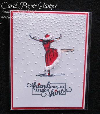 Stampin' Up! Beautiful You Mrs. Clause! #diy #diycrafts #christmas #christmascrafts #handmade #christmascards #papercrafts #paperart #scrapbooking #stampinup #carolpaynestamps