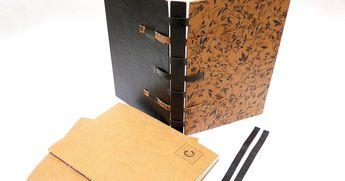 livro recarregável - capa com estrutura crisscross capa dura com revestimento ...