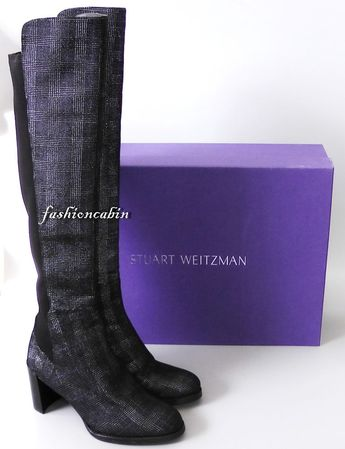96f14b2bfd8 NEW Stuart Weitzman Lowjack Over The Knee Leather Boot Shoes