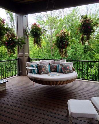 Nice porch swing