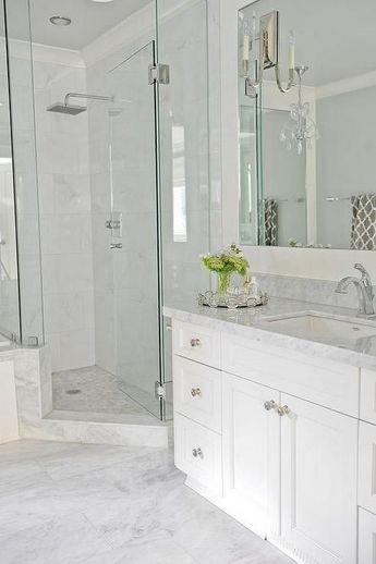 Awesome 30+ Marble Tile Bathroom Flooring Ideas