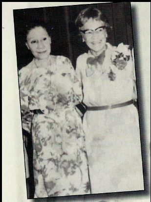Soror Founders Oseola Macarthy Adams and Bertha Pitts Campbell