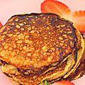 Pan cakes à la banane sans farine à 0 SP - Bienvenue chez Minouchapassion