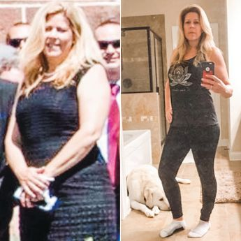 """Alvena Pareja's transformation is such an inspiration! """"Thank you, Danette May, for introducing me to this amazing program. I started with the 30-Day Challenge in March of 2017. I've released 40 pounds to date! I've gone from a size 14 to a size 6! I am 53 years old and have never felt better! I tell everyone about Danette and how what she has taught me has changed my life. To all of my sisters who are struggling, I hope my pictures bring you hope. Keep at this! It really works."""""""