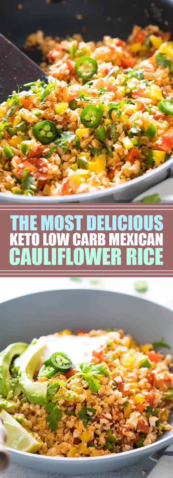★★★★★ 41 reviews: The Most Delicious Keto Low Carb Mexican Cauliflower Rice | This Low Carb Mexican Cauliflower Rice is a healthy, paleo friendly, keto friendly, vegan side dish recipe that is bursting with mexican flavours and ready in 30 minutes! #keto #lowcarb #mexican #paleo #vegan | foodgasm.club