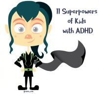 ADHD Superpowers for Kids #adhdchildrentips