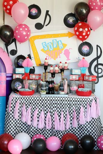Throw the Ultimate Daddy and Daughter Sock Hop Valentine's Day Party