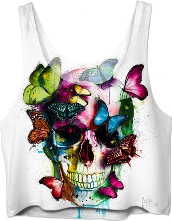 Soul's Colors Crop Top by Patrice Murciano