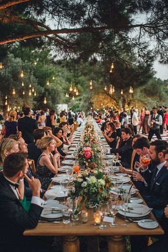 Enchanting olive grove wedding