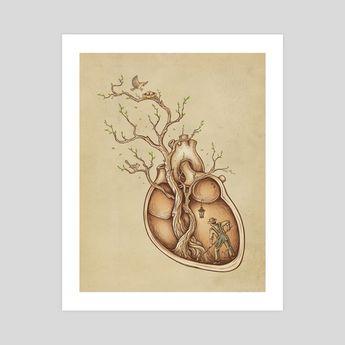 Tree of Life, an art print by Enkel Dika