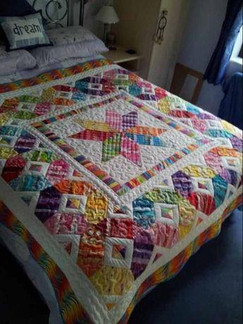 Izy's Scrap Happy Star Quilt Pattern