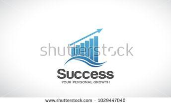 Finance Success Logo Vector Graphic Design