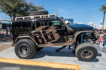 ALL The Jeeps at SEMA 2018