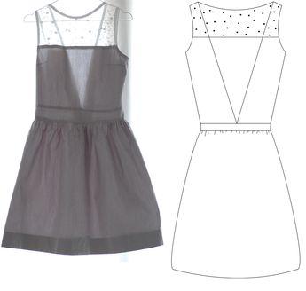 Robe : Guidance pour transformer le Back to Back de Vanessa Pouzet en robe
