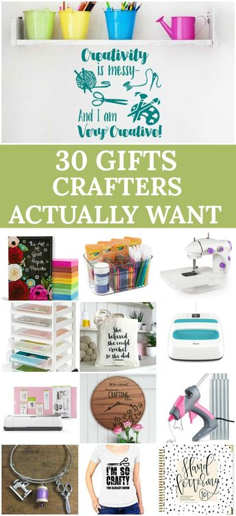 Gift Ideas For Crafters: 30 Brilliant Gifts for Crafters