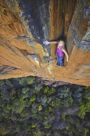 Photos: Sasha DiGiulian Climbing in South Africa