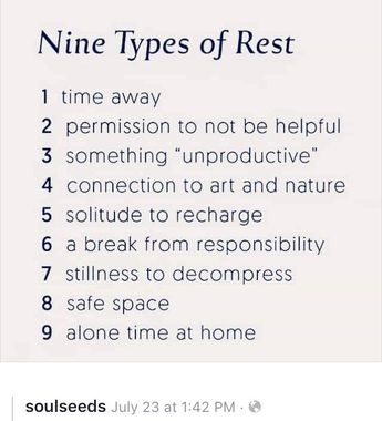 Types of Rest