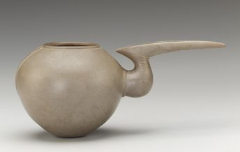forgottenancients: Beak Spouted Jar Freer/Sackler Gallery D.C 1400-800 B.C.E 17.4H 37.7W 19-7D cm Iron Age I - II Earthenware
