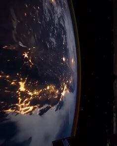 "Amazing World on Instagram: ""The view from Space 😍 Our planet earth never sleep 😍  Video by © 🎥 @iss  Follow 👉@amazingworld.hd for more!  Tag someone that should see…"""