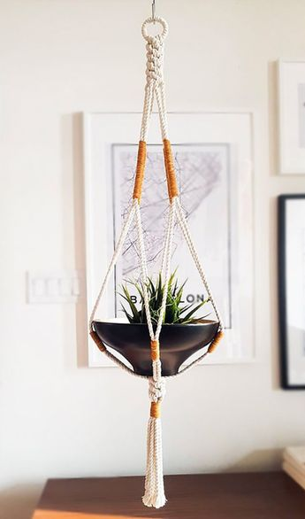 The Best Macramé Planters You Can Buy or DIY