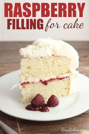 Raspberry Filling for Cakes