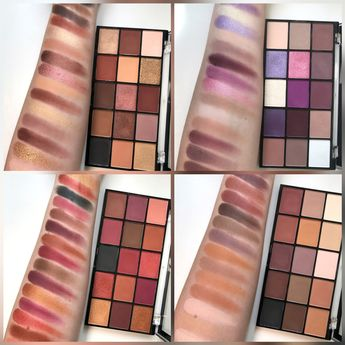 Makeup Revolution is dropping 4 new Reloaded Palettes!