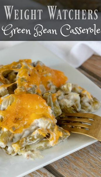 This Weight Watchers Green Bean Casserole is simple to make in minutes. There is only 3 Weight Watchers Freestyle Smart Points in each 1 cup serving!