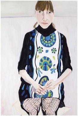 Chantal Joffe, 'Sally in Fishnets,' 2013, Galerie Forsblom