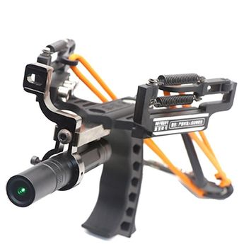 TEAEGG SlingBow hunting slingshot With Arrow Rest with Dot Pointer