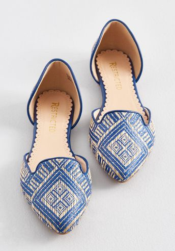 Well-Stepped Woven Loafer