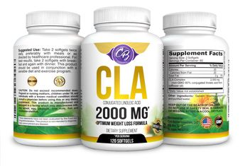 Optimum Dosage CLA 2000mg 120 Count Softgels Best Belly Fat Burner Weight Loss Pills Lose Weight Fast High Potency Pure Safflower Oil Conjugated Linoleic Acid CLA for Men and Women 1250 Sunflower 1000 * Want additional info? Click on the image. (Note:Amazon affiliate link)