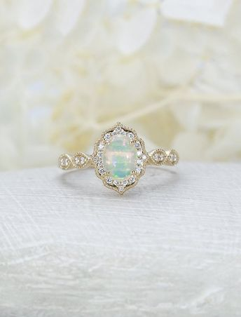 8c1839d04c176 Rosados Box Ready to Ship Lily 0.94cts 14kt Rose Gold Teal