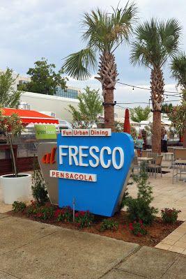 New food carts in Downtown Pensacola~ Al Fresco  Fresh Air dining~ #downtownpensacola #alfresco