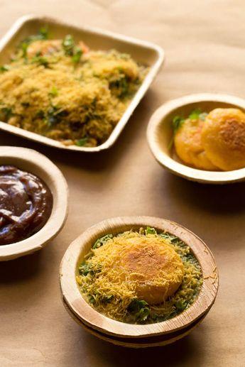 Ragda Patties or Ragda Pattice. Popular Mumbai Chaat Recipe. Step by step Post.