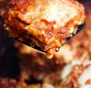 Portuguese Lasagna (No Boil – Easy)