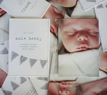 10 Favorite Birth Announcements